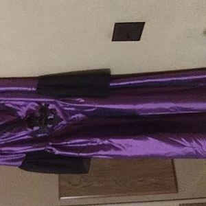 A purple dress